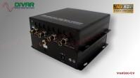 LWL4CSDI - 4 Kanal 3GSDI 4K Video Fiber Converter Set