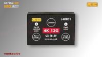 L4KR01 - 12GSDI 2x1 Umschalter | Relais