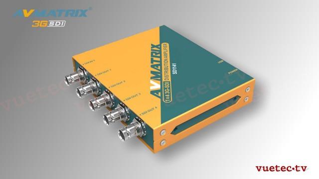 Distribution Amplifier SD1141 - SDI zu 4x SDI, reclocked