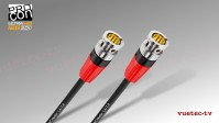 Anfertigung 12GSDI Video Kabel SC1.2/4,80, 75 Ohm, schwarz, BNC-M - BNC-M