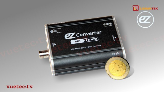 ez-SH - 3G/HD/SD-SDI zu HDMI High Performance Micro-Converter