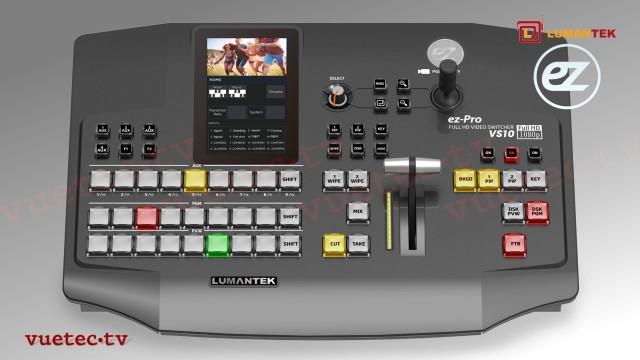 ez-PRO VS10 10-Channel AV Matrix Switcher + MultiViewer, Kompaktgerät