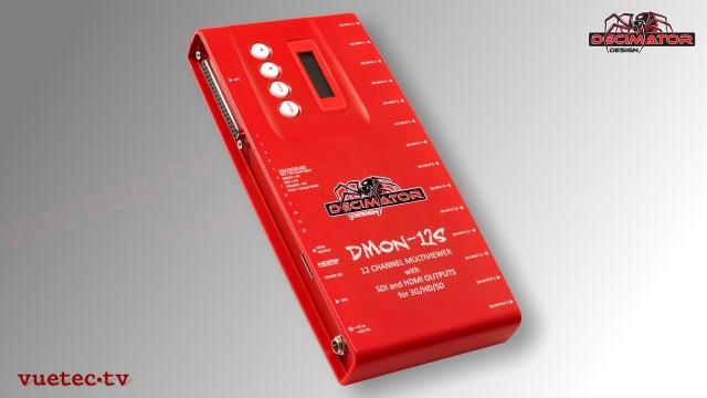 Decimator DMON-12S - 12x SDI zu SDI und HDMI Multiviewer