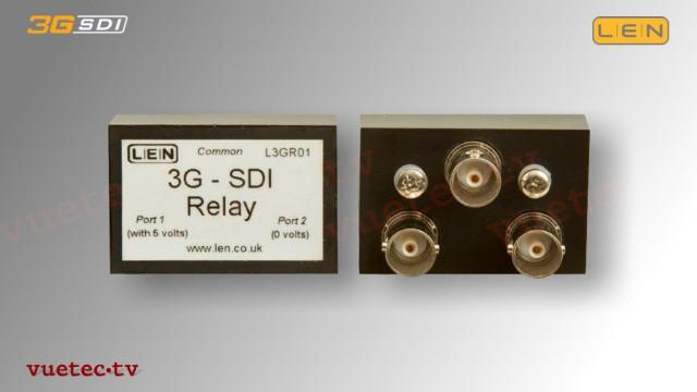 L3GR01 - 3GSDI 2x1 Umschalter   Relais