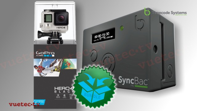 SyncBac PRO + GoPro Hero4 black Bundle