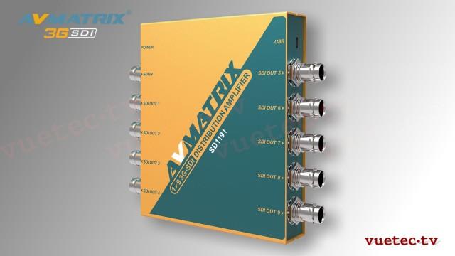 Distribution Amplifier SD1191 - SDI zu 9x SDI, reclocked