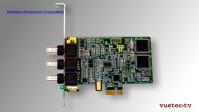 LTC Timecode Reader/Generator als PCIe Karte