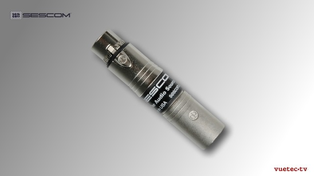 Audio RF Filter, INLINE-EMCF, XLR