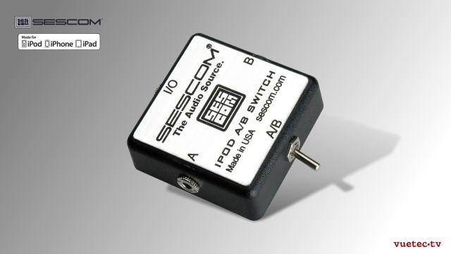 Audio-Umschalter für iPhone / iPad / iPod oder andere MP3 Player