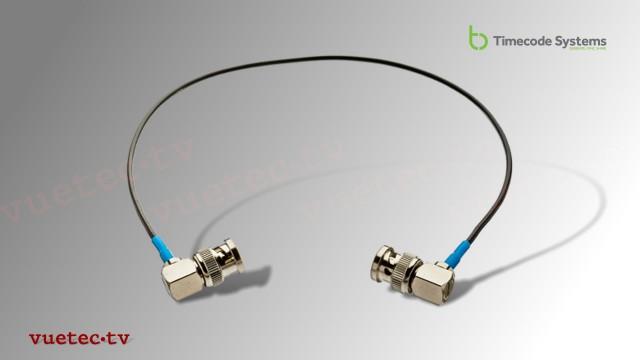 Timecode Anschlußkabel TCB10, BNC-M RA - BNC-M RA