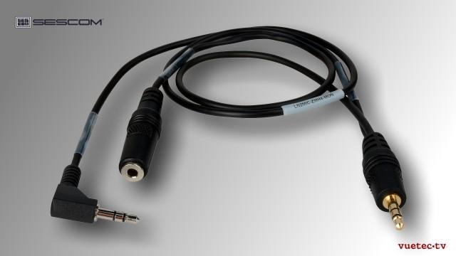 DSLR Adapter - LN2MICZMH6MON - Line zu Mic mit 25 dB Dämpfung und Headphone