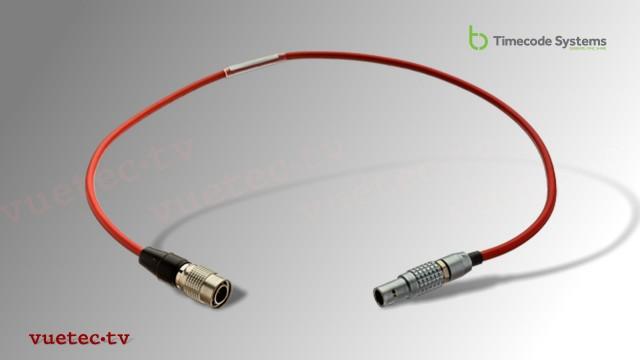 DC-Power Anschlußkabel TCB36, Hirose 4pin male - Lemo 2pin male
