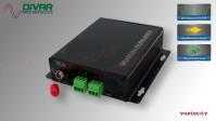 LWL4CUNBAL - 4 Kanal Set, analog Audio, un-symmetrisch, über Glasfaser