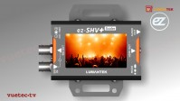 ez-SHV+ - 3G/HD/SD-SDI zu HDMI High Performance Micro-Converter mit Display
