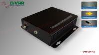 LWL2CUBTRS - 2 Kanal Set, analog Audio, TRS un-symmetrisch, über Glasfaser