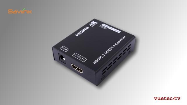 HDMI 2.2 zu HDMI 1.4 Konverter mit HDCP Korrektur