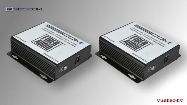 Audio over Fiber, FA8UB, 8 Kanal analog Audio, un-symmetrisch