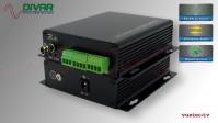 LWL2CBALBI - 2 Kanal Set, symmetrisches analog Audio bidirektional über Glasfaser