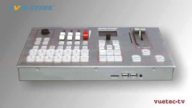 PVS0605 Portable 6 Channel AV Matrix Switcher