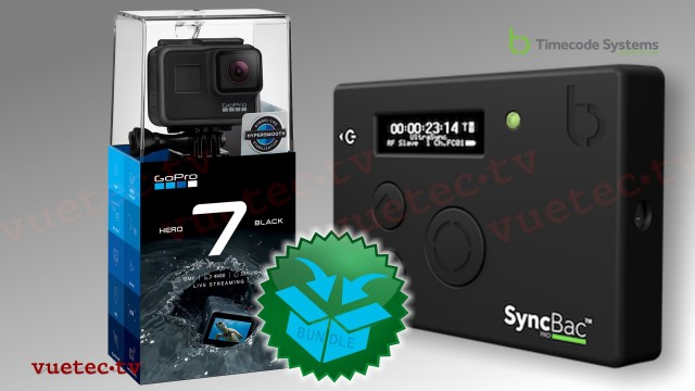 SyncBac PRO + GoPro Hero7 black Bundle