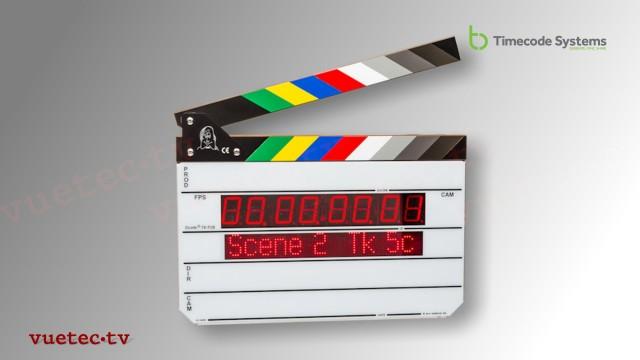 DENECKE Film-Klappe mit Timecode Anzeige