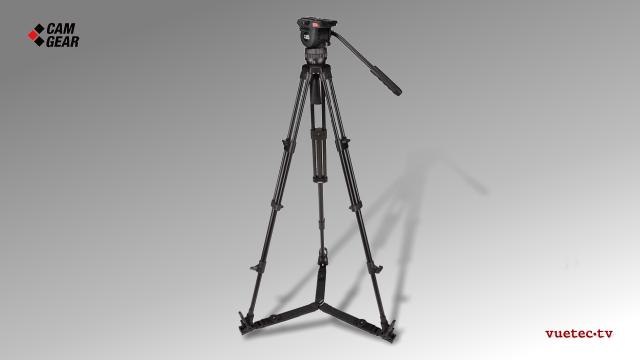 Kamerastativ Set MARK 4 mit S/N-Kopf, AL-Tripod, Bodenspinne