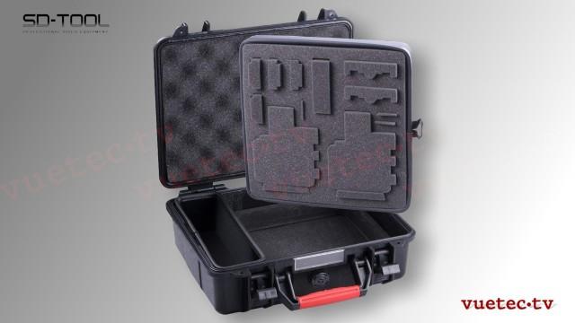 Schutzkoffer für 2 GoPro Kameras und Zubehör - SmartCase GA500