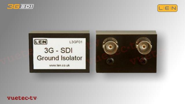 L3GF01 - 3GSDI Video ground Isolator
