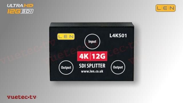 L4KS01 - 12GSDI passiver Splitter 1 auf 2