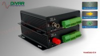 LWL2CBAL - 2 Kanal Set, symmetrisches analog Audio über Glasfaser
