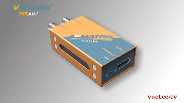 Micro Konverter SC1221 - HDMI zu SDI