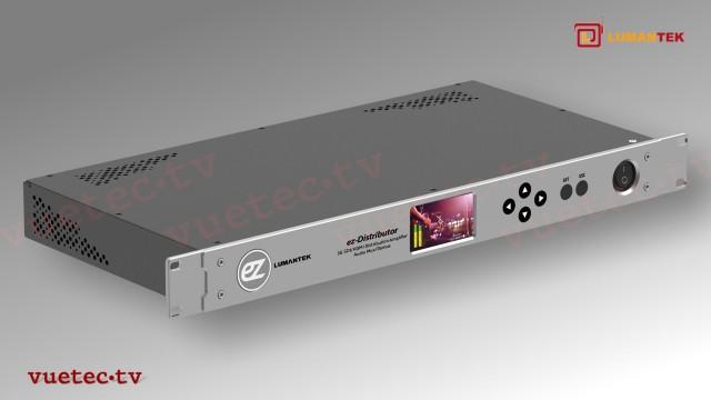 ez-DISTRIBUTOR Multi-Funktionale Einheit 1x12 SDI, HDMI Converter, Monitor