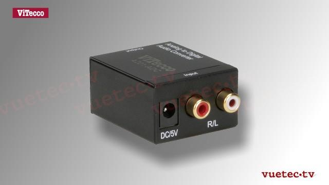 A201 Analog nach Digital Audio Wandler