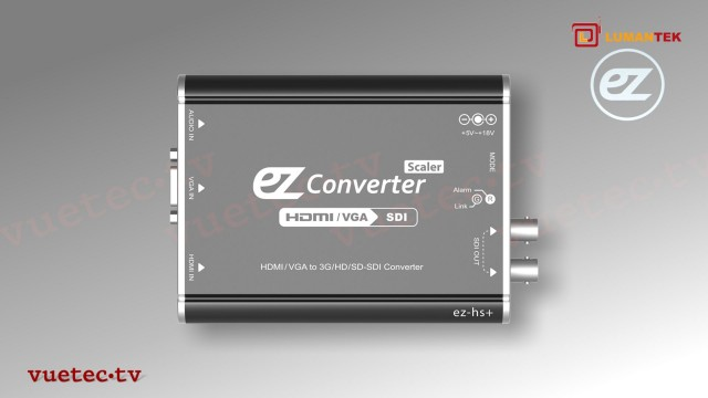 ez-HS+ - HDMI und VGA zu 3G/HD/SD-SDI Converter / Scaler