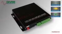 LWL16CUNBAL - 16 Kanal Set, analog Audio, un-symmetrisch, über Glasfaser