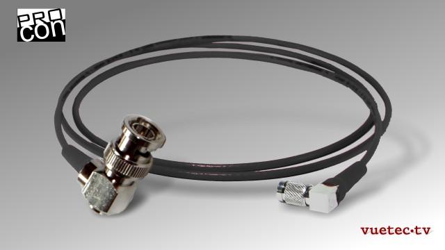 Anfertigung von RG179 Videokabel + Adapter für 3G-SDI