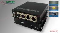 LWL2CXBALBI - 2 Kanal Set, symmetrisches analog Audio XLR bidirektional über Glasfaser