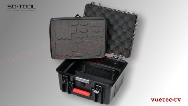 Schutzkoffer für 3 GoPro Kameras und Zubehör - SmartCase GA700