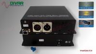 LWL1CXBALBI - 1 Kanal Set, symmetrisches analog Audio XLR bidirektional über Glasfaser