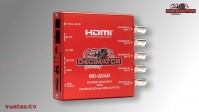 Decimator MD-Quad V3 - 4x SDI zu SDI und HDMI