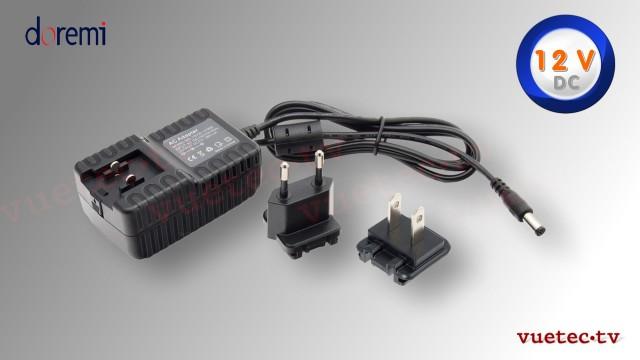 doremi Netzteil PSN12 12 V DC mit 5,5x2,5 Hohlstecker