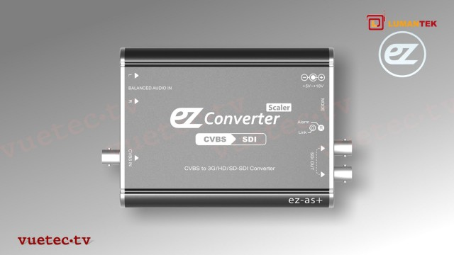 ez-AS+ - CCVS zu 3G/HD/SD-SDI Converter / Scaler