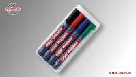 Whiteboard Marker - Edding 360 4er Set farbig sortiert